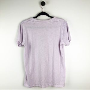 J. Crew Tops - J. Crew Great Lakes Graphic T-Shirt Purple Red M